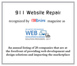 911 Website Repair